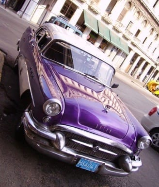 1950 America Auto, Havana © Clayton Burne
