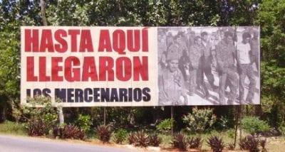 The mercenaries made it to here, Zapata © Clayton Burne